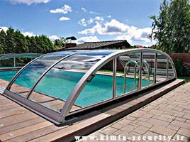 سقف اتوماتیک پلی کربنات
