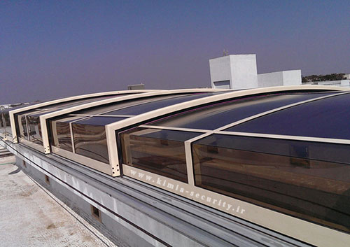 سقف اتوماتیک تلسکوپی